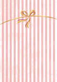 Vector sweet stripped background. White and pink. Cute wallpaper Royalty Free Stock Image