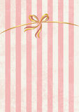 Vector sweet stripped background. White and pink. Cute wallpaper Royalty Free Stock Photos