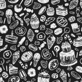 Vector Sweets. Pattern. Stock Photo