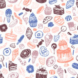 Vector Sweets. Royalty Free Stock Photos