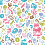 Vector Sweets. Royalty Free Stock Photography