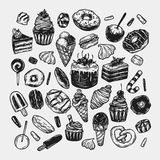 Vector Sweets. Stock Images