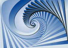 Vector swirl background Stock Photography
