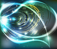 Vector swirl background Stock Photo