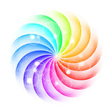 Vector swirl background Royalty Free Stock Photo