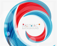 Vector swirl line abstract background. Modern layout for your message, slogan or brand name Stock Images