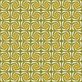 Vector swirl seamless pattern. Retro abstract geometric ornament for textile, prints, wallpaper, wrapping paper, web etc.  stock illustration