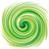 Vector swirling backdrop light green color Royalty Free Stock Image
