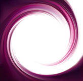 Vector swirling backdrop. Spiral liquid lilac surface Royalty Free Stock Photo