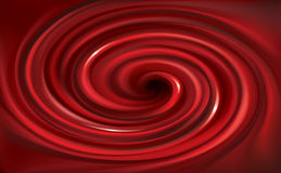 Vector Swirling Red Backdrop. Juice Of Red Fruits Stock Photos