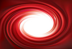 Vector swirling red backdrop. Juice of red fruits Royalty Free Stock Photos