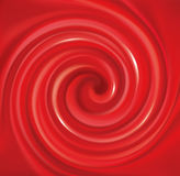 Vector swirling red backdrop. Juice of red fruits Stock Images