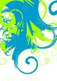 Vector swirls Stock Image