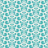 Vector swirls seamless pattern Royalty Free Stock Photography