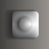 Vector switch button Stock Photos