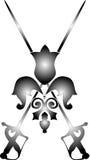 Vector swords Royalty Free Stock Image