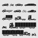 Vector Symbol Set Car Stock Photo