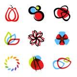 Vector symbols royalty free illustration