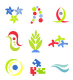 Vector symbols or icons Stock Photo