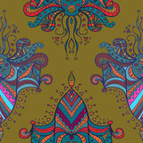 Vector Symmetrical Elements Pattern Royalty Free Stock Photography
