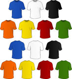 Vector t-shirts Stock Image