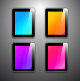 Vector tablet pc Stock Photo
