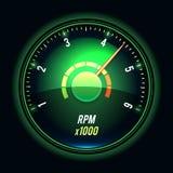 Vector tachometer. Stock Photos