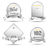 Vector tag banner emroidery style Royalty Free Stock Photo