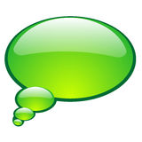 Vector talk bubble. For design Royalty Free Stock Photography