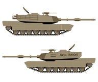 Vector Tank Stock Photo