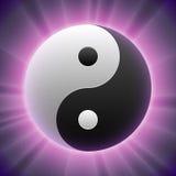 Vector Taoist Yin-yang Symbol Stock Images