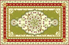 Vector tapijt Royalty-vrije Stock Foto's