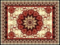 Vector tapijt Royalty-vrije Stock Foto