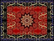 Vector tapijt Stock Foto's
