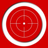 Vector target icon, Crosshair Stock Photos