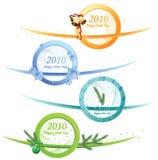 Vector tarjeta de felicitación de la Navidad y de los Nuevo-Años libre illustration