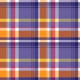Vector tartan textile texture. Royalty Free Stock Photography