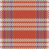 Vector tartan textile texture. Royalty Free Stock Photo