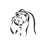 Vector tattoo sketch animal Stock Images