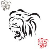 Vector tattoo sketch animal Royalty Free Stock Photo