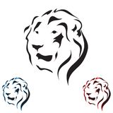 Vector tattoo sketch animal Royalty Free Stock Photos