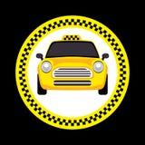 Vector of a taxi Stock Photos