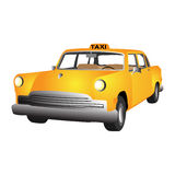 Vector taxi car Stock Photos