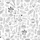 Vector tea background Stock Image