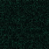 Binary code abstract seamless pattern Stock Images
