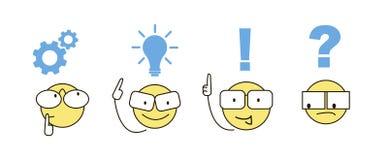 Vector Teamwork-Geschäftskonzept auf einem weißen Hintergrund Lizenzfreies Stockbild