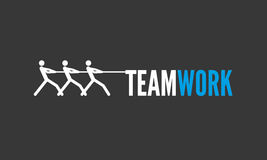 Vector teamwork graphics for infographics Royalty Free Stock Photo