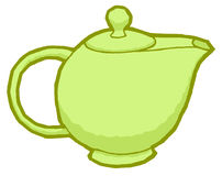 Vector teapot Royalty Free Stock Photo