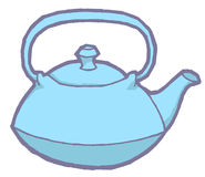 Vector teapot Royalty Free Stock Images