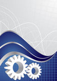 Vector tech background. Clip-art Royalty Free Stock Images